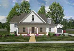 The Delaware Bay - American Heritage Homes-Build On Your Own Lot: Lockbourne, Ohio - American Heritage Homes