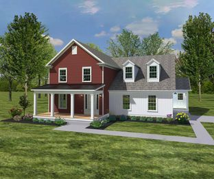 The Crestline - American Heritage Homes-Build On Your Own Lot: Lockbourne, Ohio - American Heritage Homes
