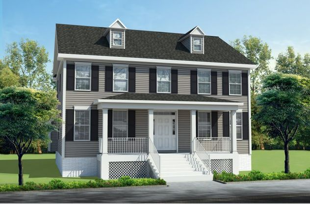 Exterior:front rendering A