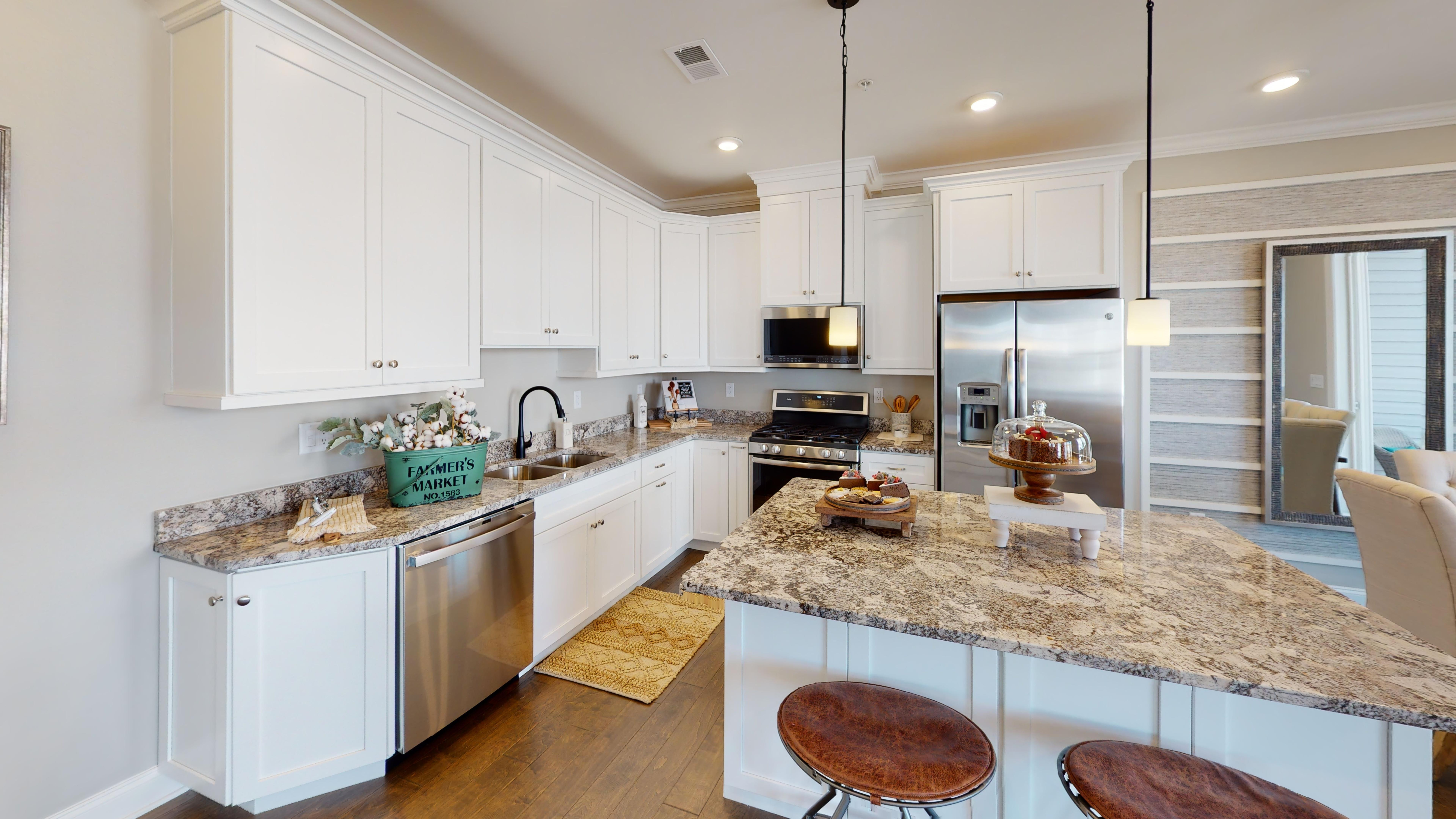 Kitchen featured in the Aurora By American Properties Realty in Middlesex County, NJ