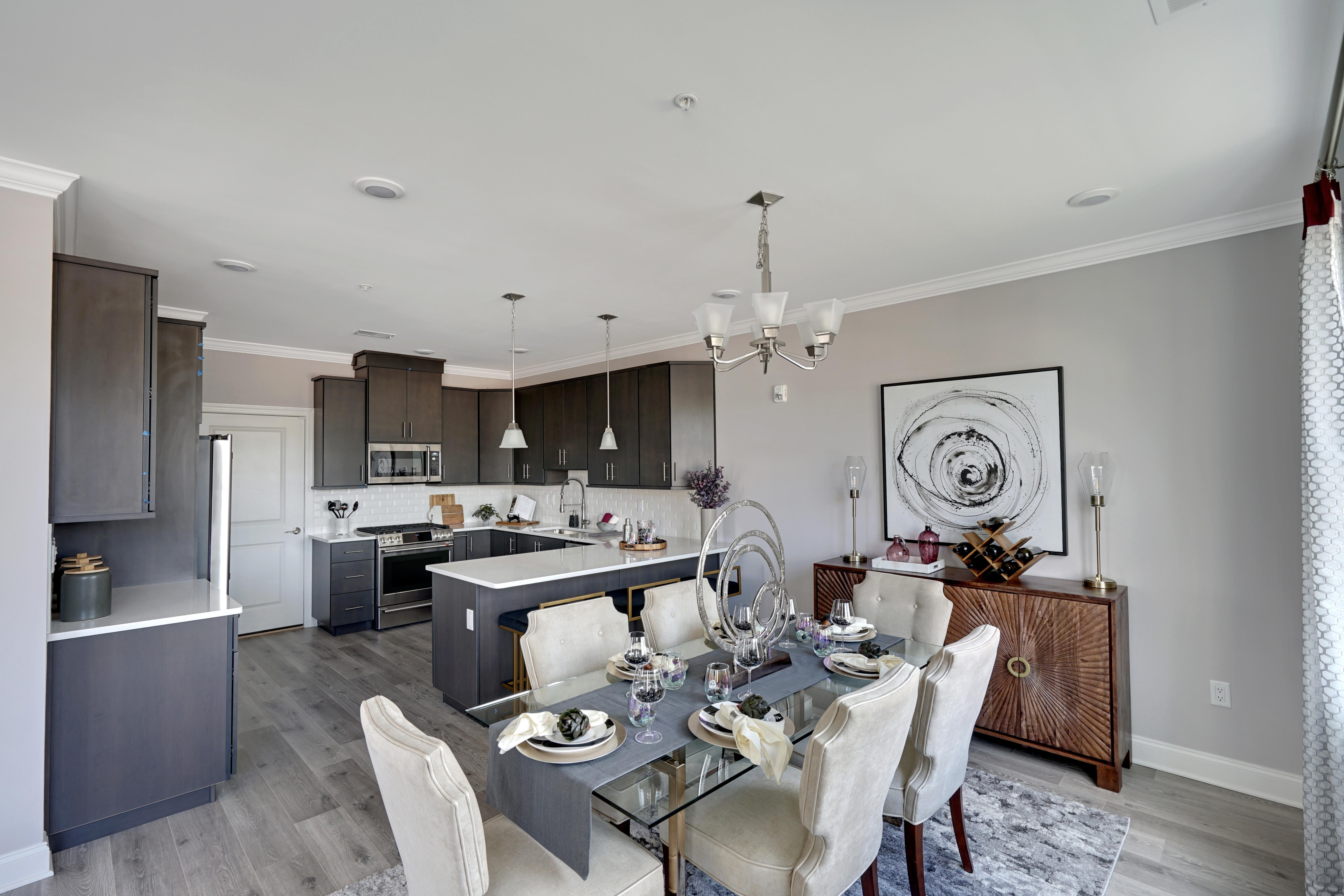 Kitchen featured in the Brookside By American Properties Realty in Middlesex County, NJ