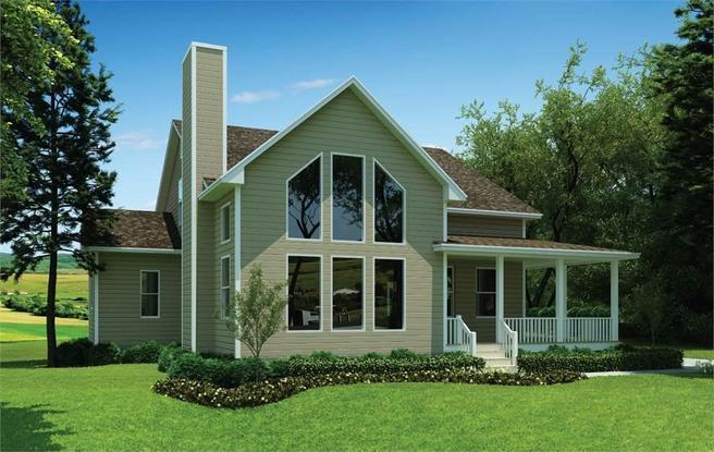 The Blue Ridge Modern Farmhouse