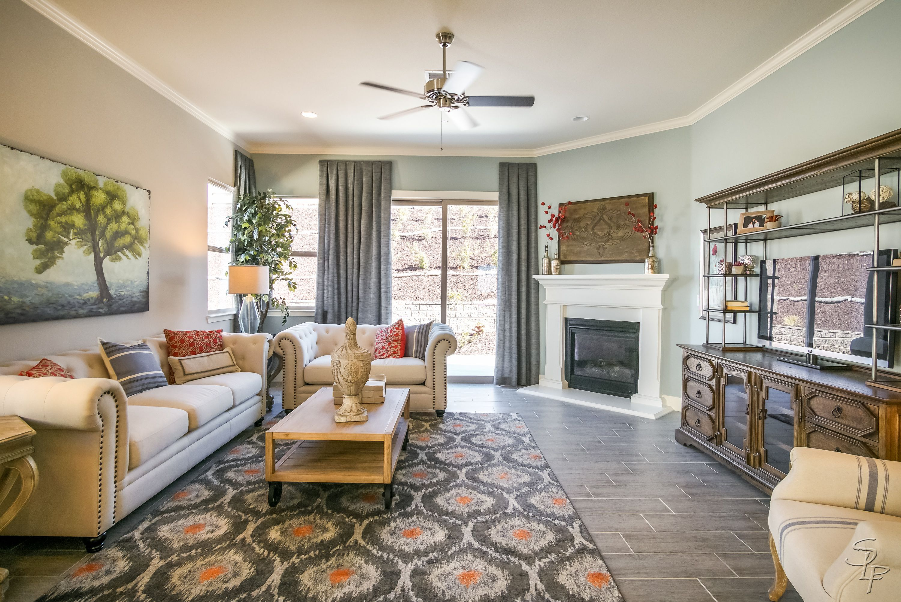 Living Area featured in The Monterey By Anderson Homes in Santa Cruz, CA