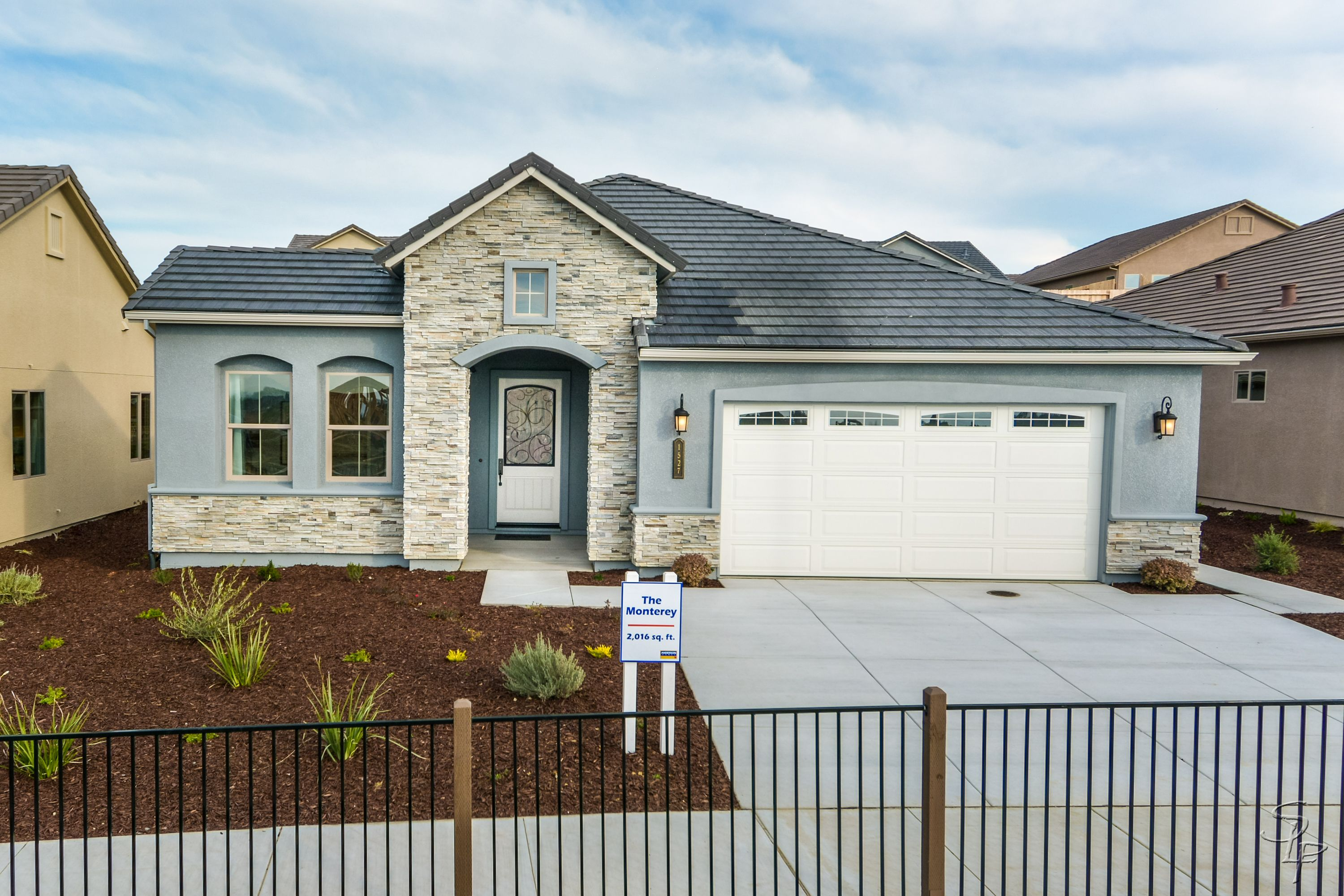 Exterior featured in The Monterey By Anderson Homes in Santa Cruz, CA