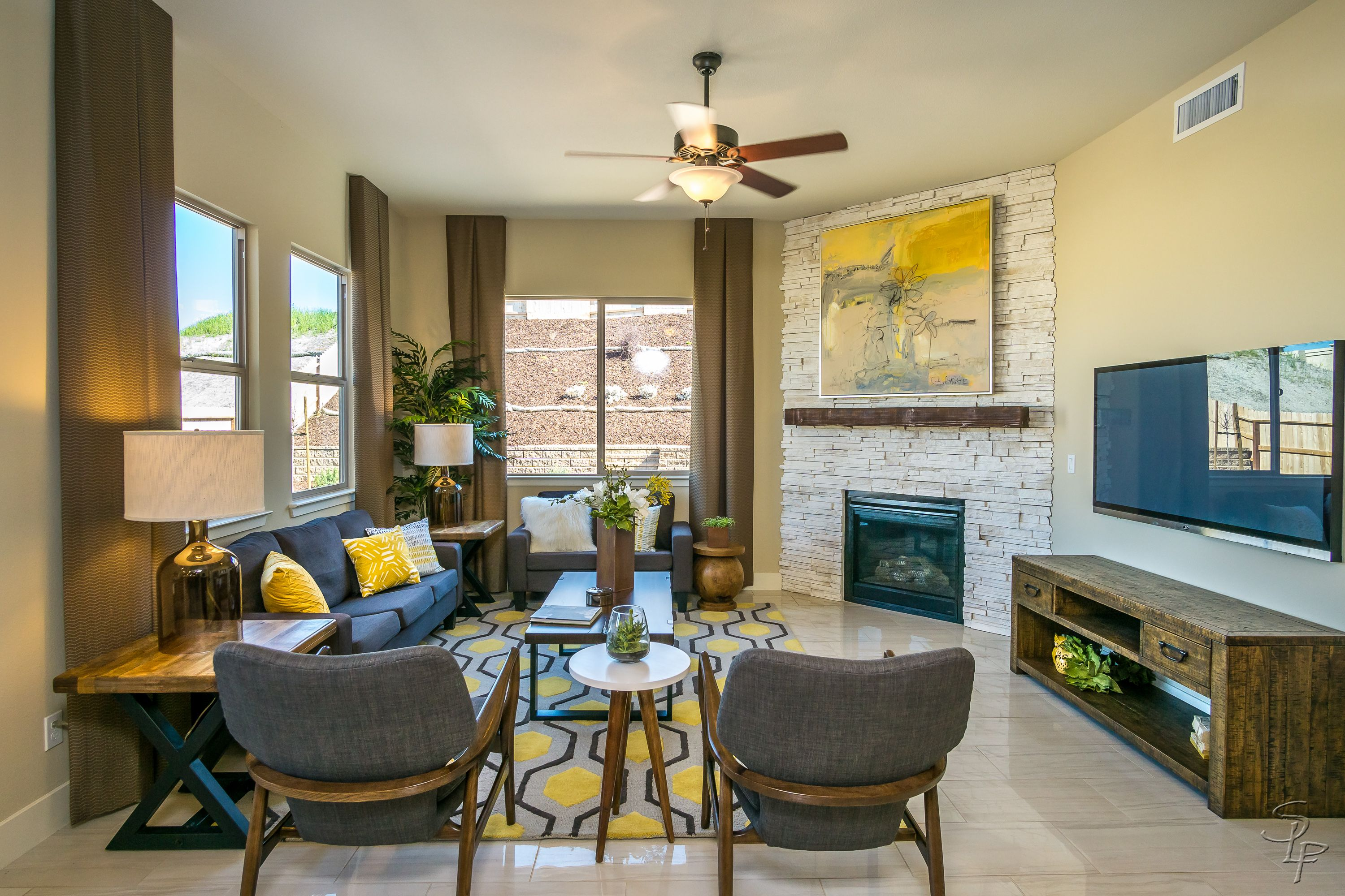 Living Area featured in The Carmel By Anderson Homes in Santa Cruz, CA