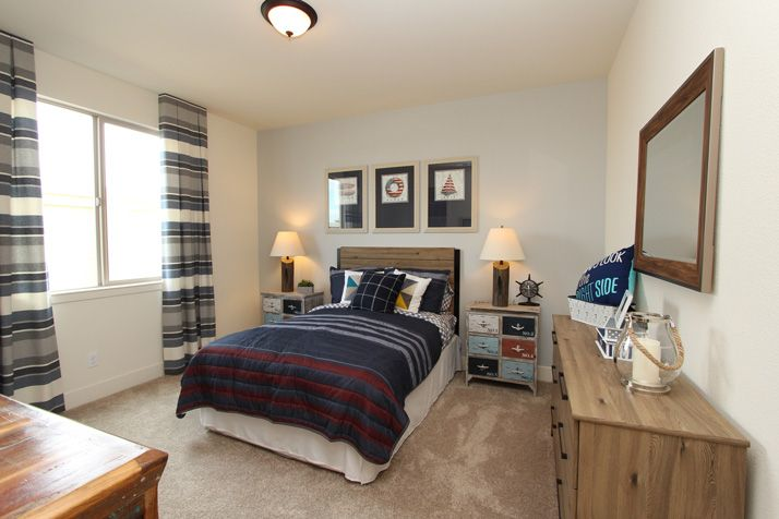 Bedroom featured in The Pismo By Anderson Homes in Santa Cruz, CA