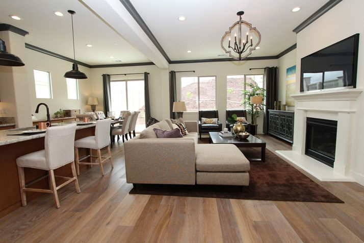Living Area featured in The Pismo By Anderson Homes in Santa Cruz, CA