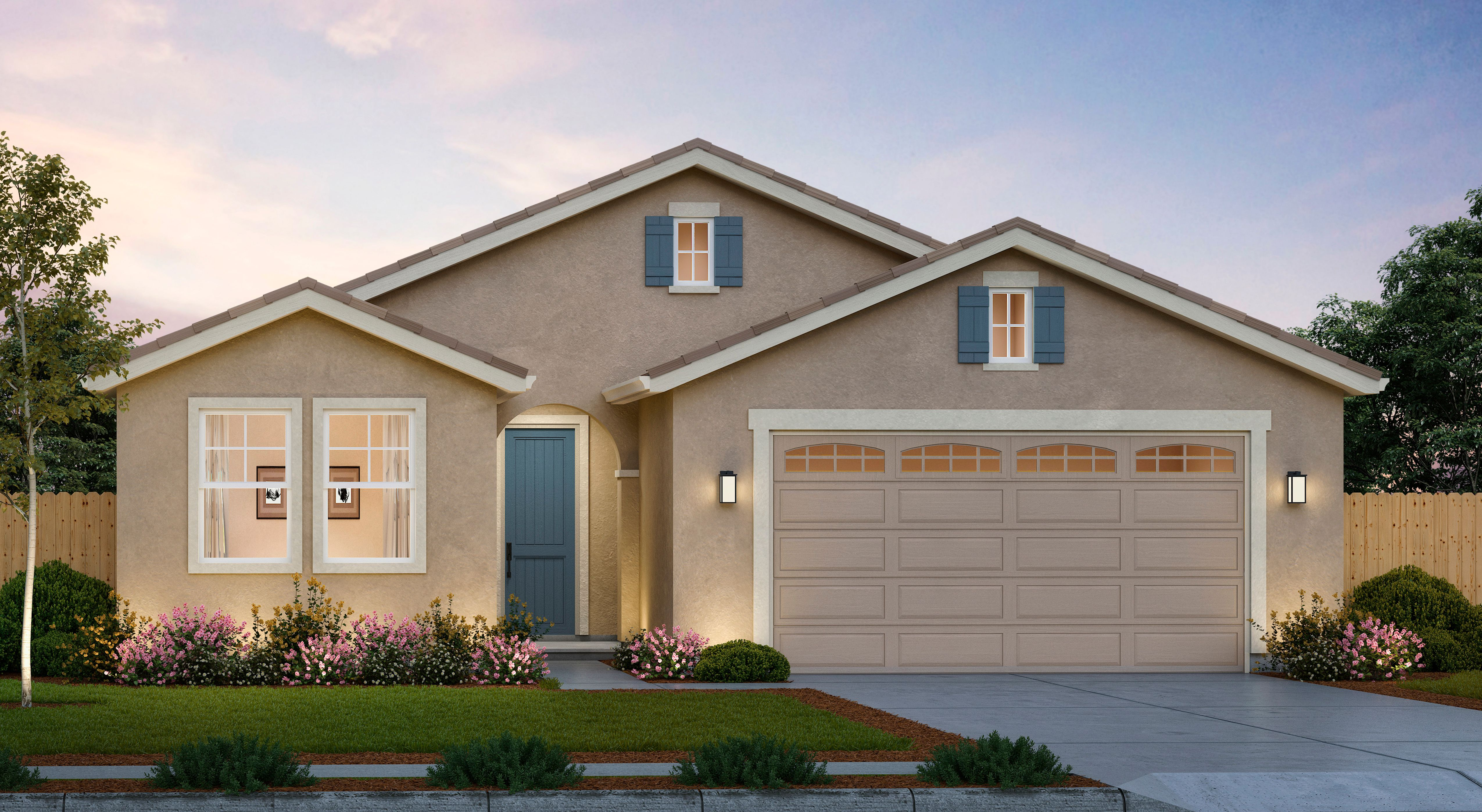 Exterior featured in The Avila By Anderson Homes in Merced, CA