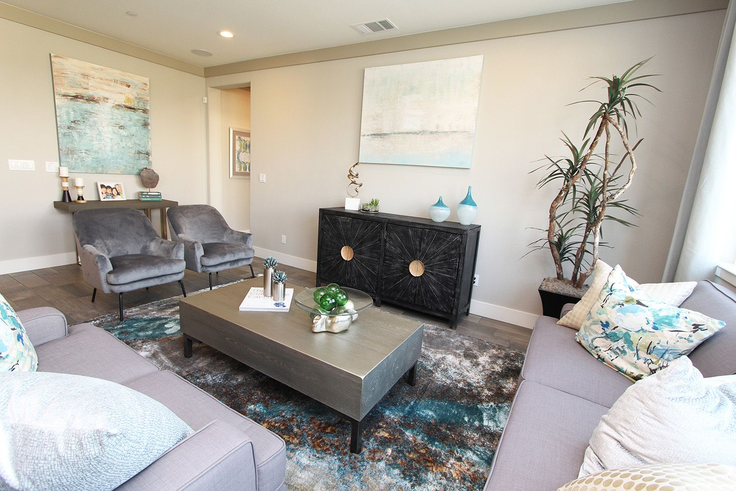 Living Area featured in The Avila By Anderson Homes in Merced, CA