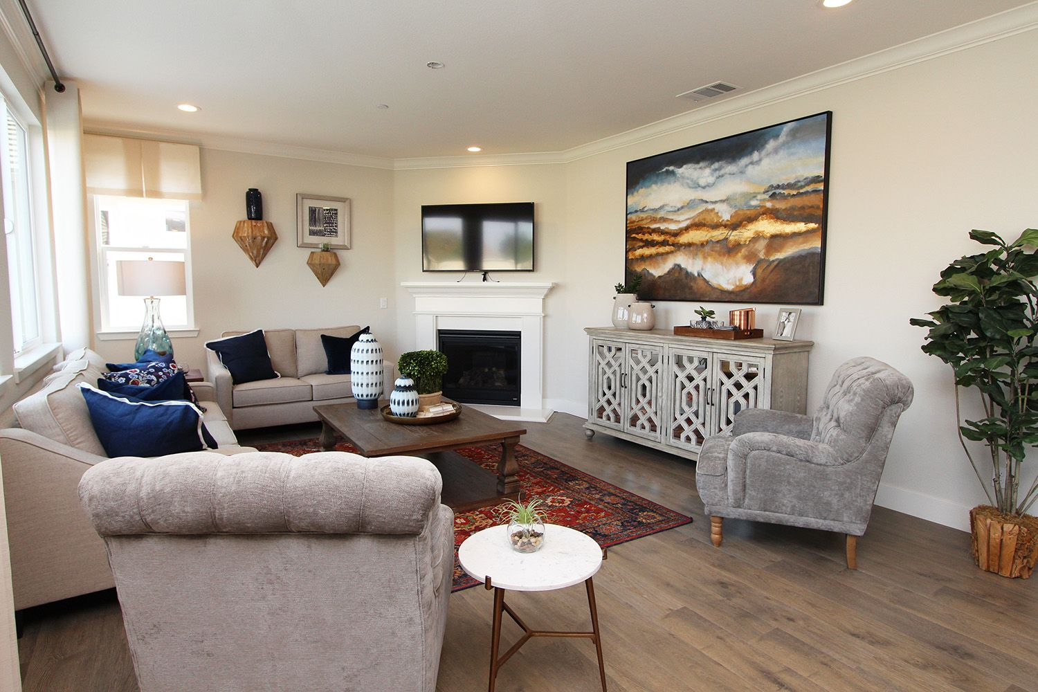 Living Area featured in The Pacifica By Anderson Homes in Merced, CA