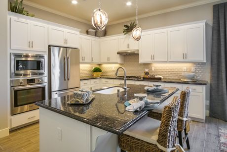 Kitchen-in-The Monterey-at-Santana Ranch-in-Hollister