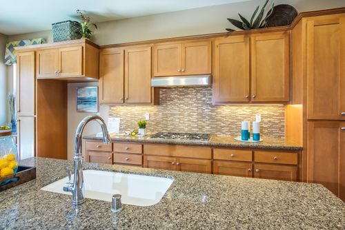 Kitchen-in-The Santa Cruz-at-Southbrook-in-Los Banos