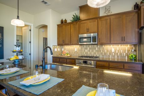 Kitchen-in-The Carmel-at-Santana Ranch-in-Hollister