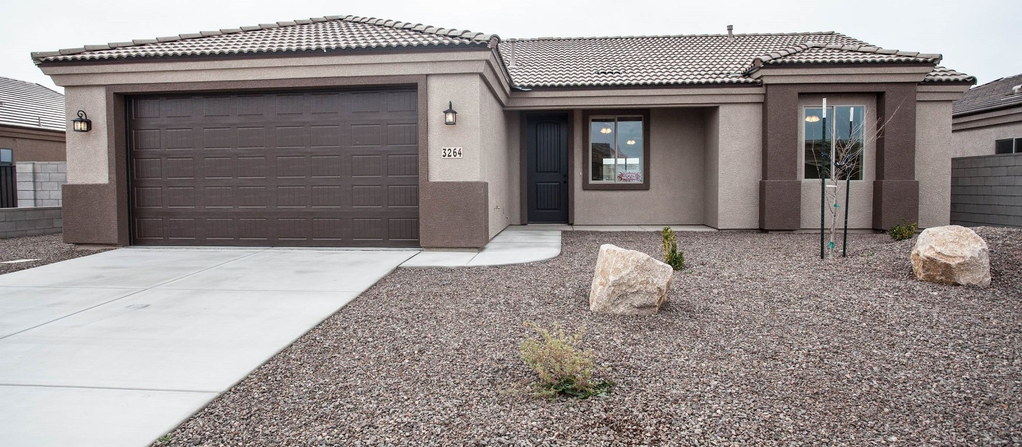 Exterior featured in the Juniper 1410 By Angle Homes in Kingman-Lake Havasu City, AZ