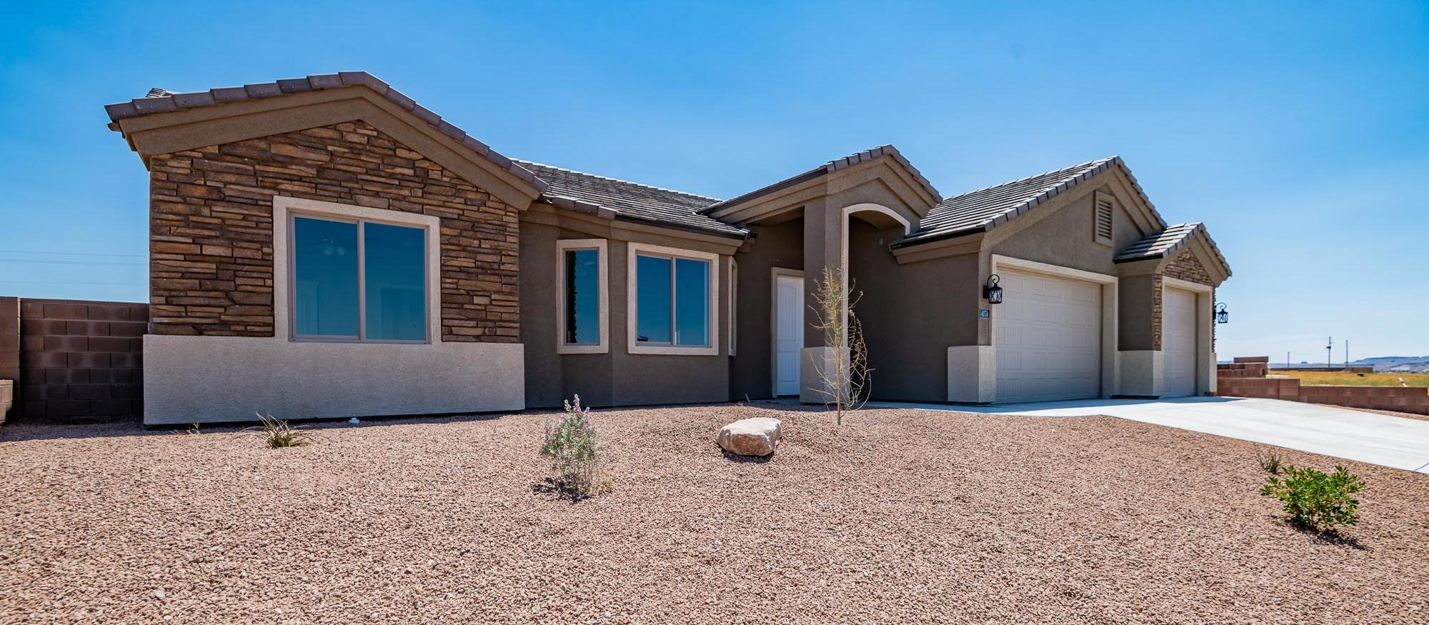Exterior featured in the Palo Verde 1768 By Angle Homes in Kingman-Lake Havasu City, AZ