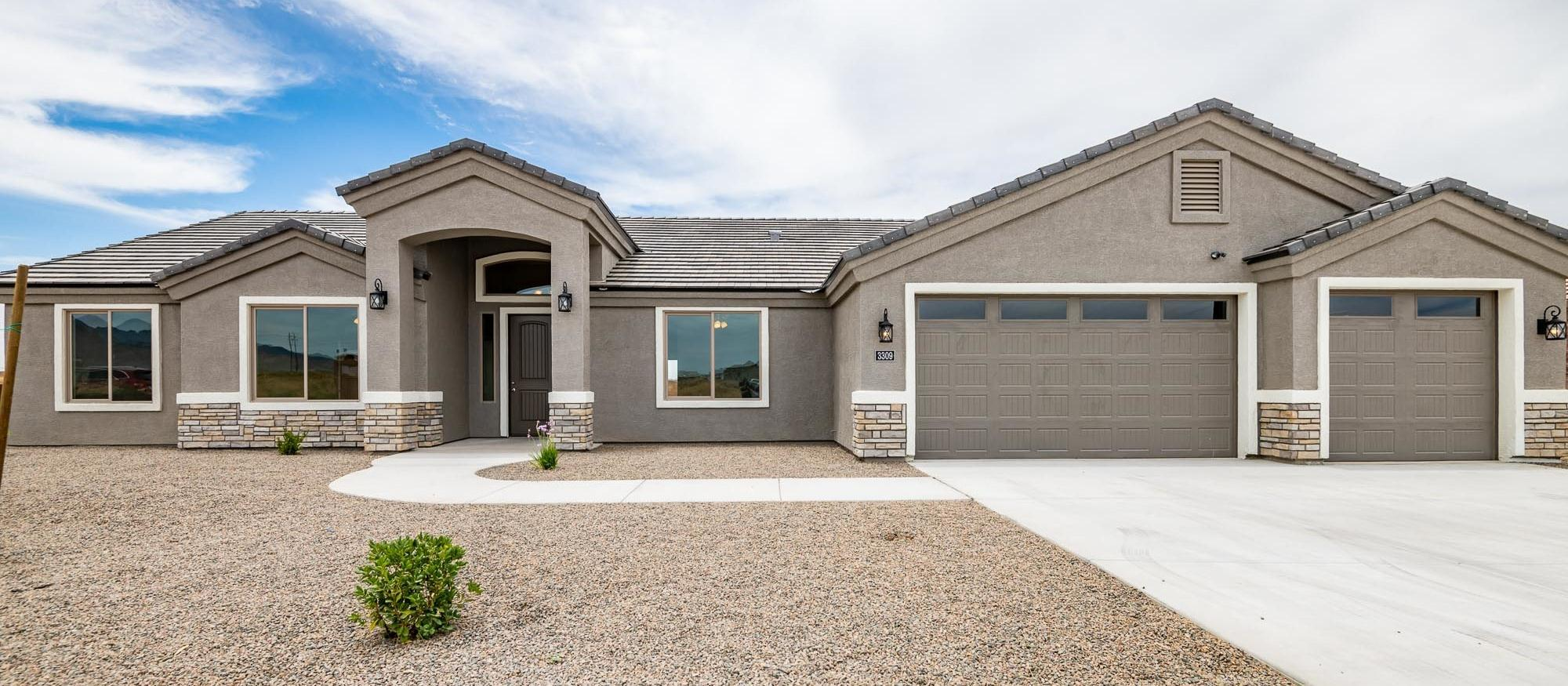 Exterior featured in the Legacy 2374 By Angle Homes in Kingman-Lake Havasu City, AZ