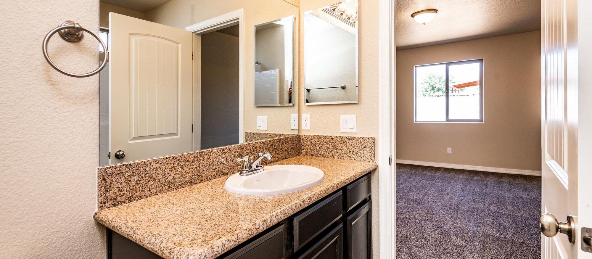 Bathroom featured in the Juniper Junior 1205 By Angle Homes in Kingman-Lake Havasu City, AZ
