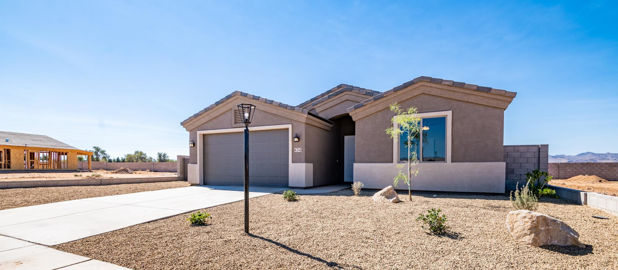 Exterior featured in the Desert Rose 1472 2 Car By Angle Homes in Kingman-Lake Havasu City, AZ