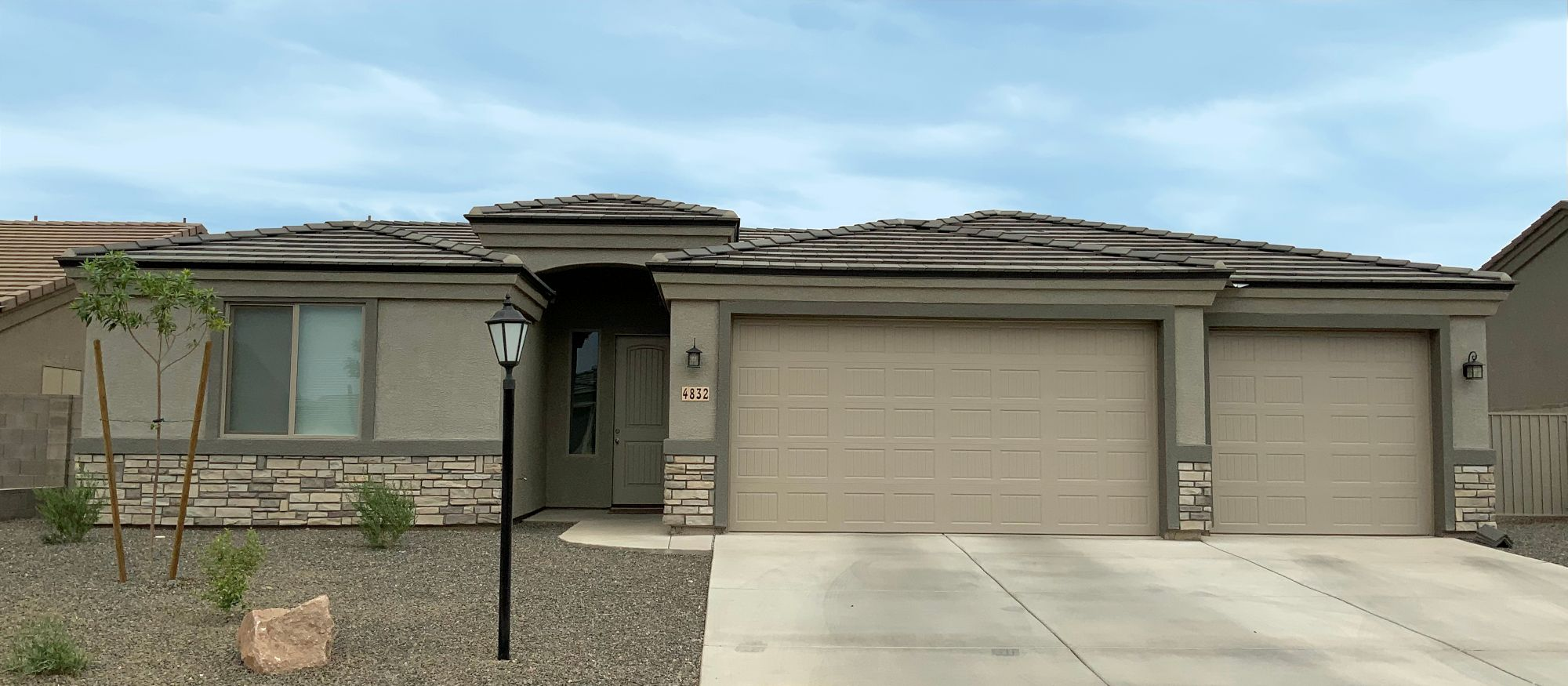 Exterior featured in the Desert Rose 1706 By Angle Homes in Kingman-Lake Havasu City, AZ