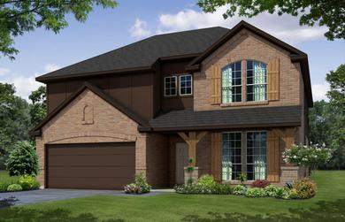 2585 Innisbrook Place Saginaw Texas Antares Homes 2 Photos Under Construction