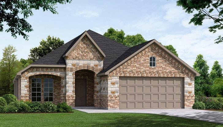 Exterior:Plan 1991 B with Stone