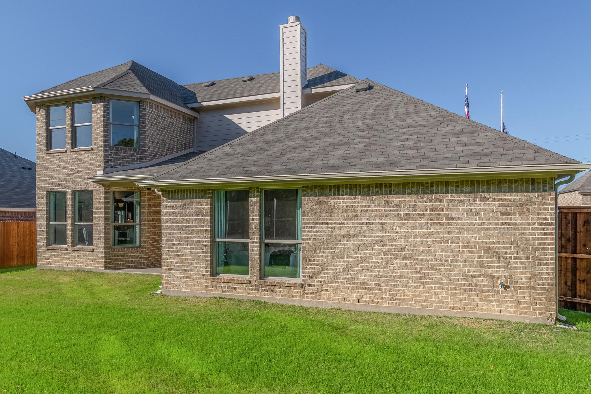 Exterior featured in the 2379 By Antares Homes in Fort Worth, TX