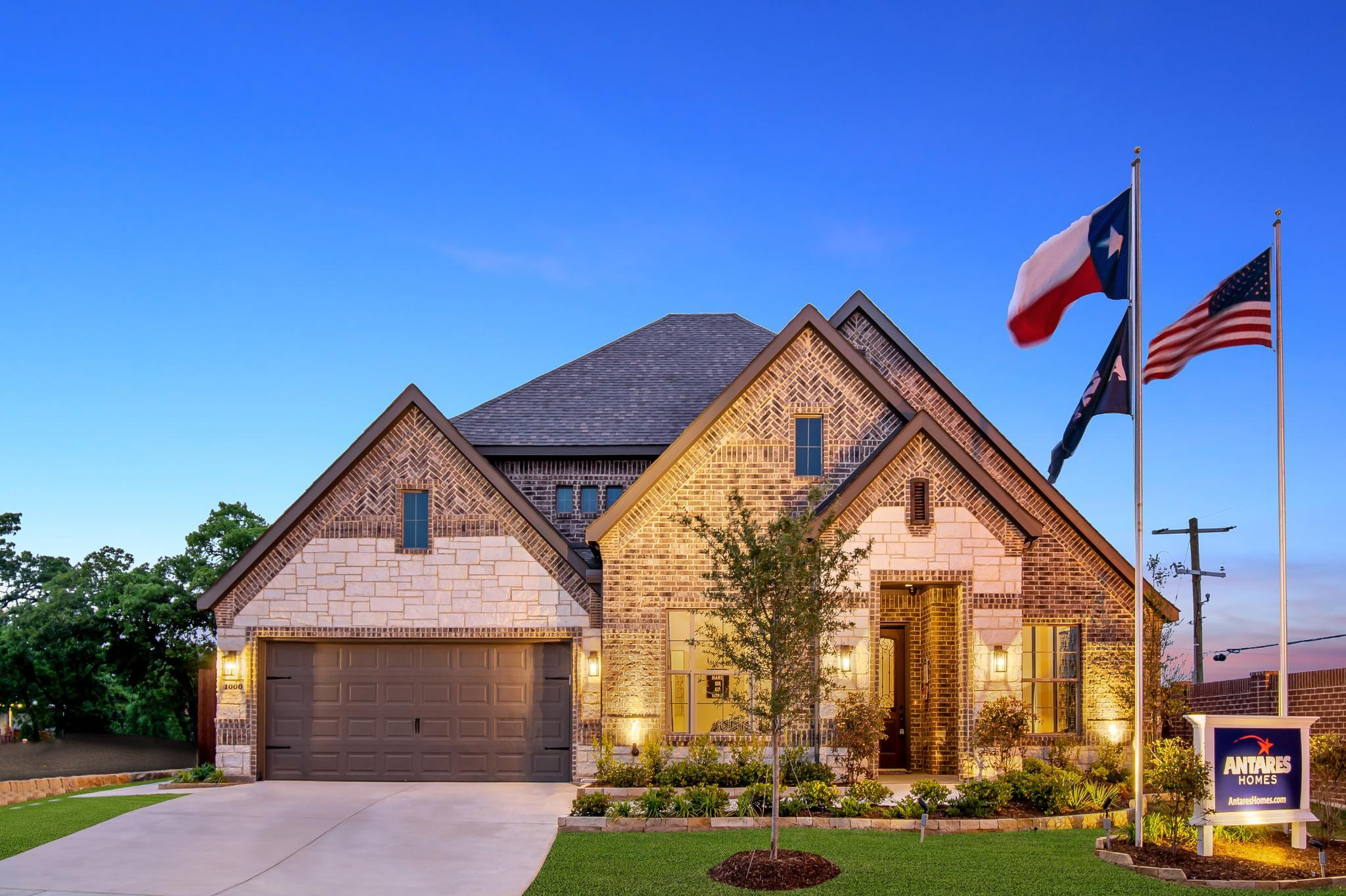 Exterior featured in the 2434 By Antares Homes in Fort Worth, TX