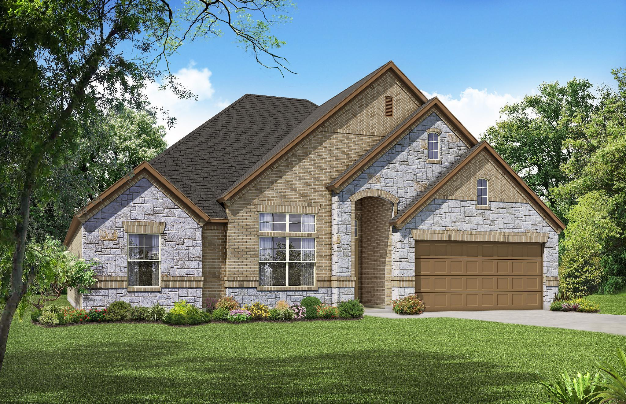 Exterior featured in the 2027 By Antares Homes in Fort Worth, TX