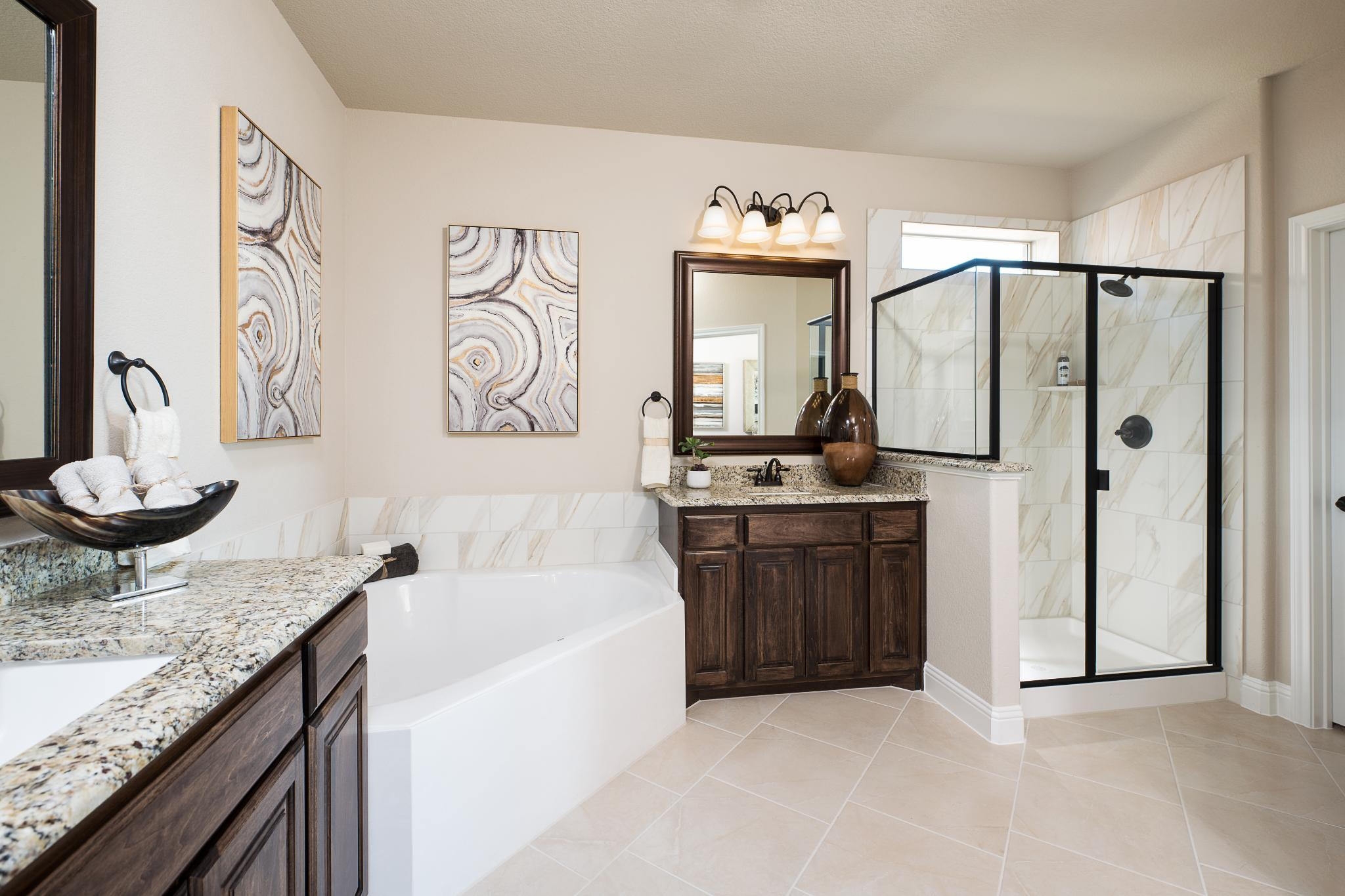 Bathroom featured in the 3135 By Antares Homes in Fort Worth, TX