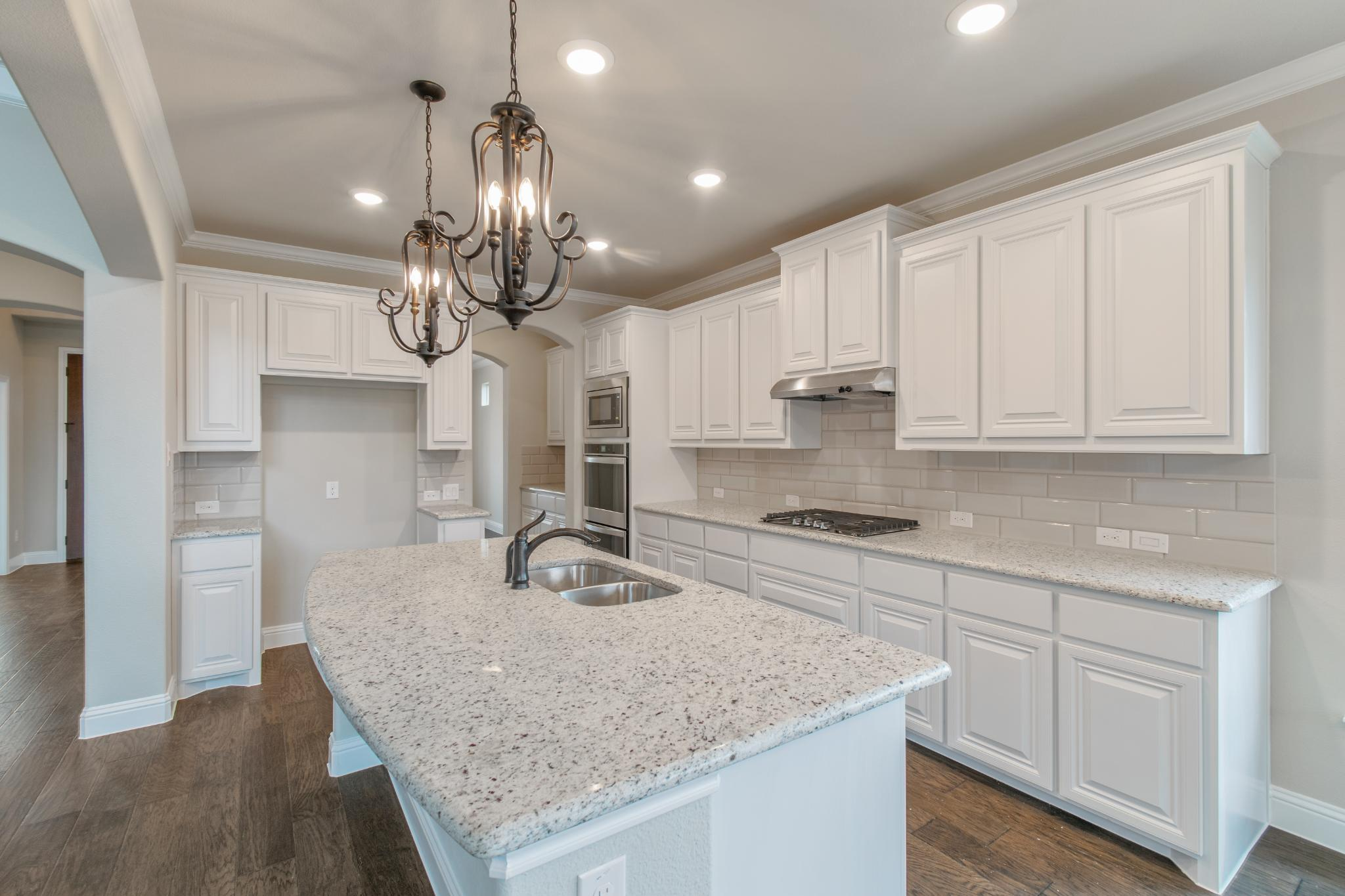 Kitchen featured in the 3135 By Antares Homes in Dallas, TX