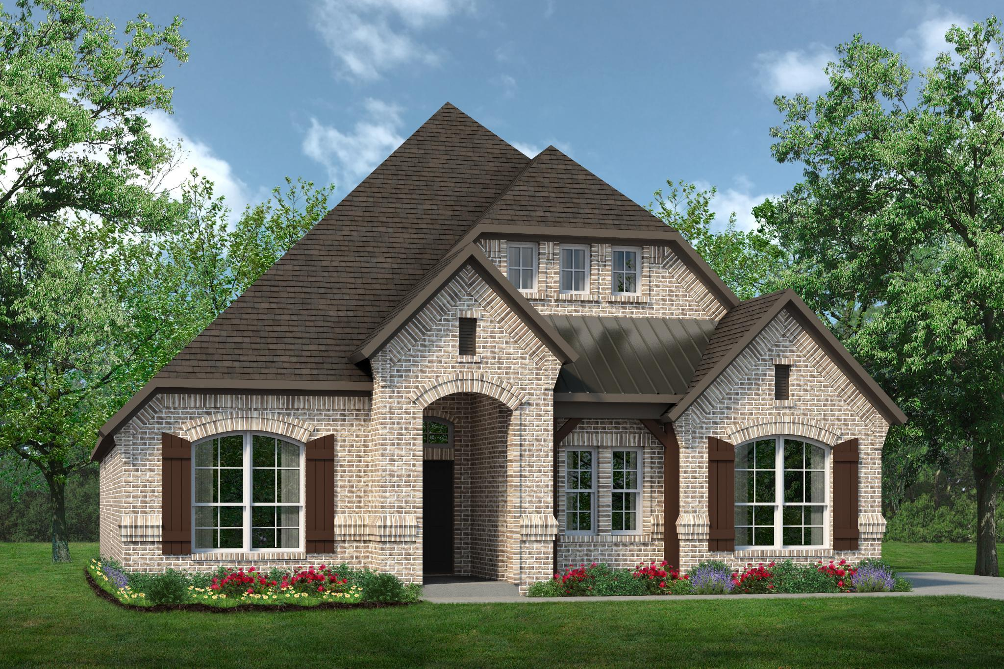 Exterior featured in the 2373 By Antares Homes in Dallas, TX