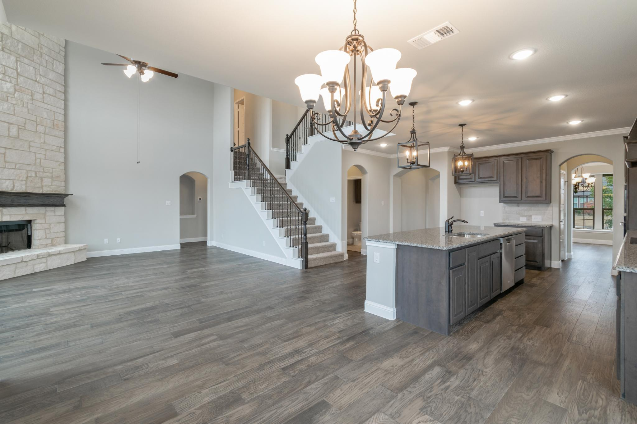Kitchen featured in the 3218 By Antares Homes in Fort Worth, TX