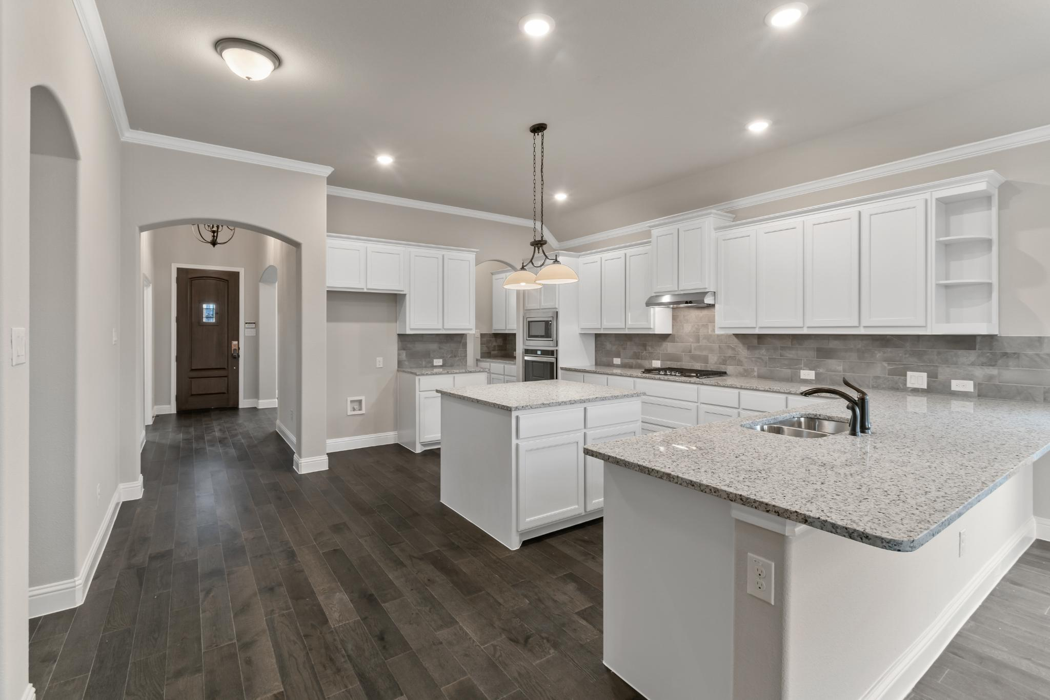 Kitchen featured in the 2533 By Antares Homes in Dallas, TX