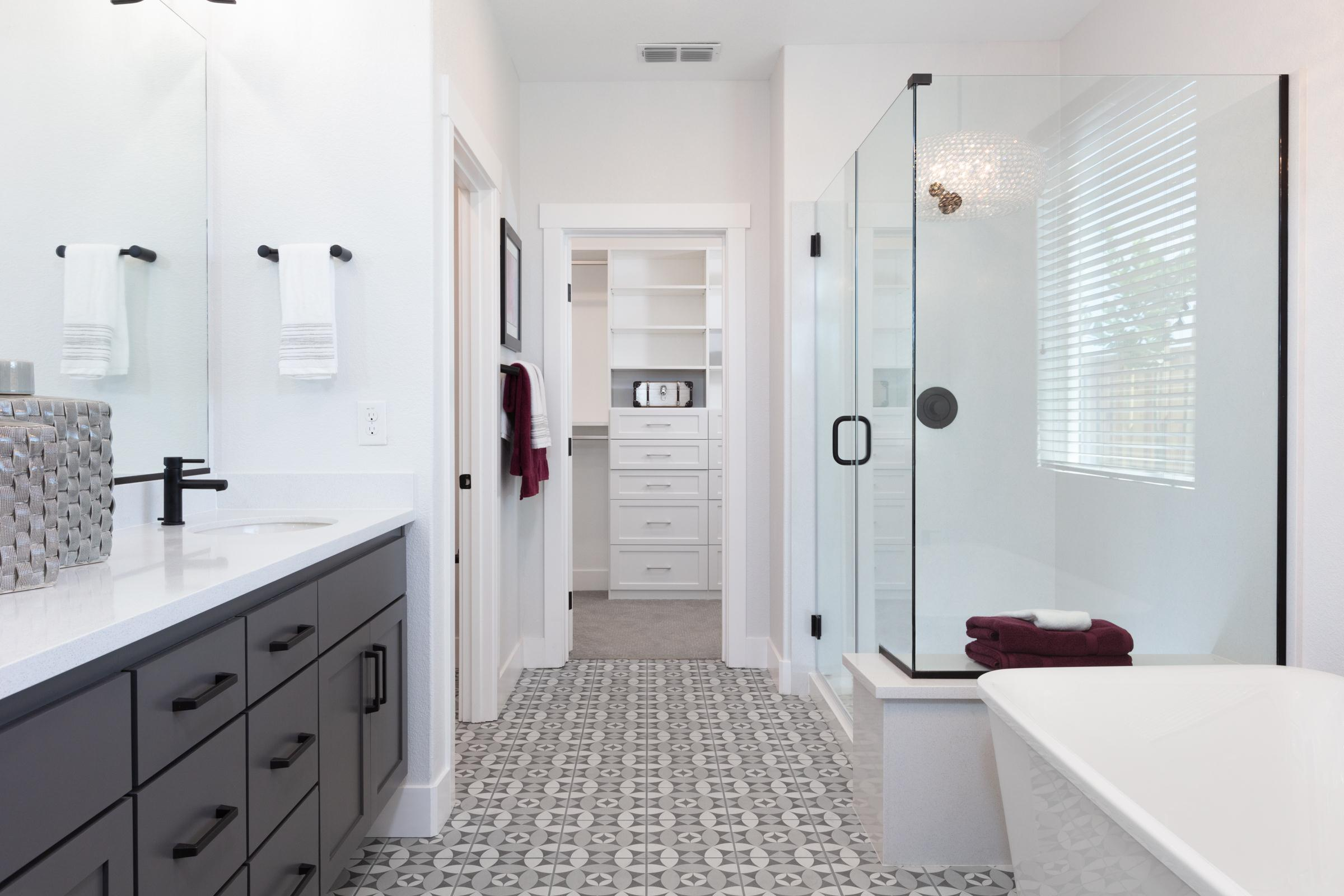 Bathroom featured in the Plan 1 By Anthem United Homes Inc in Stockton-Lodi, CA
