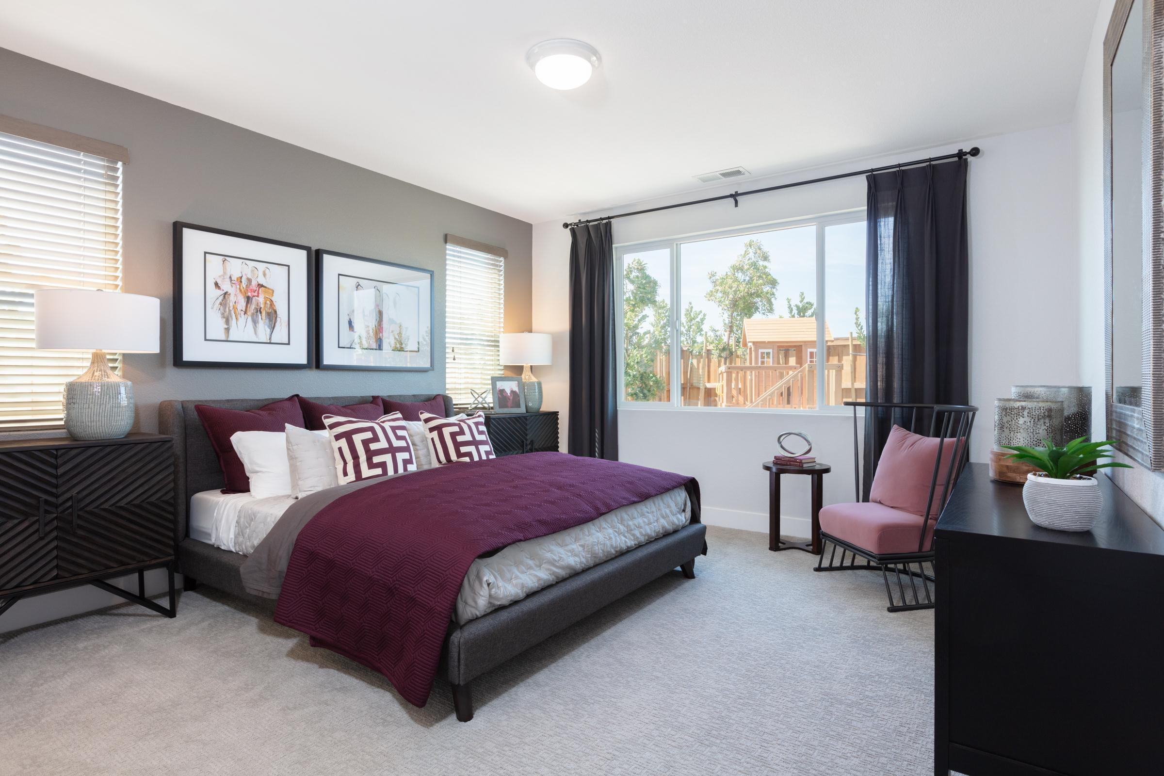 Bedroom featured in the Plan 1 By Anthem United Homes Inc in Stockton-Lodi, CA