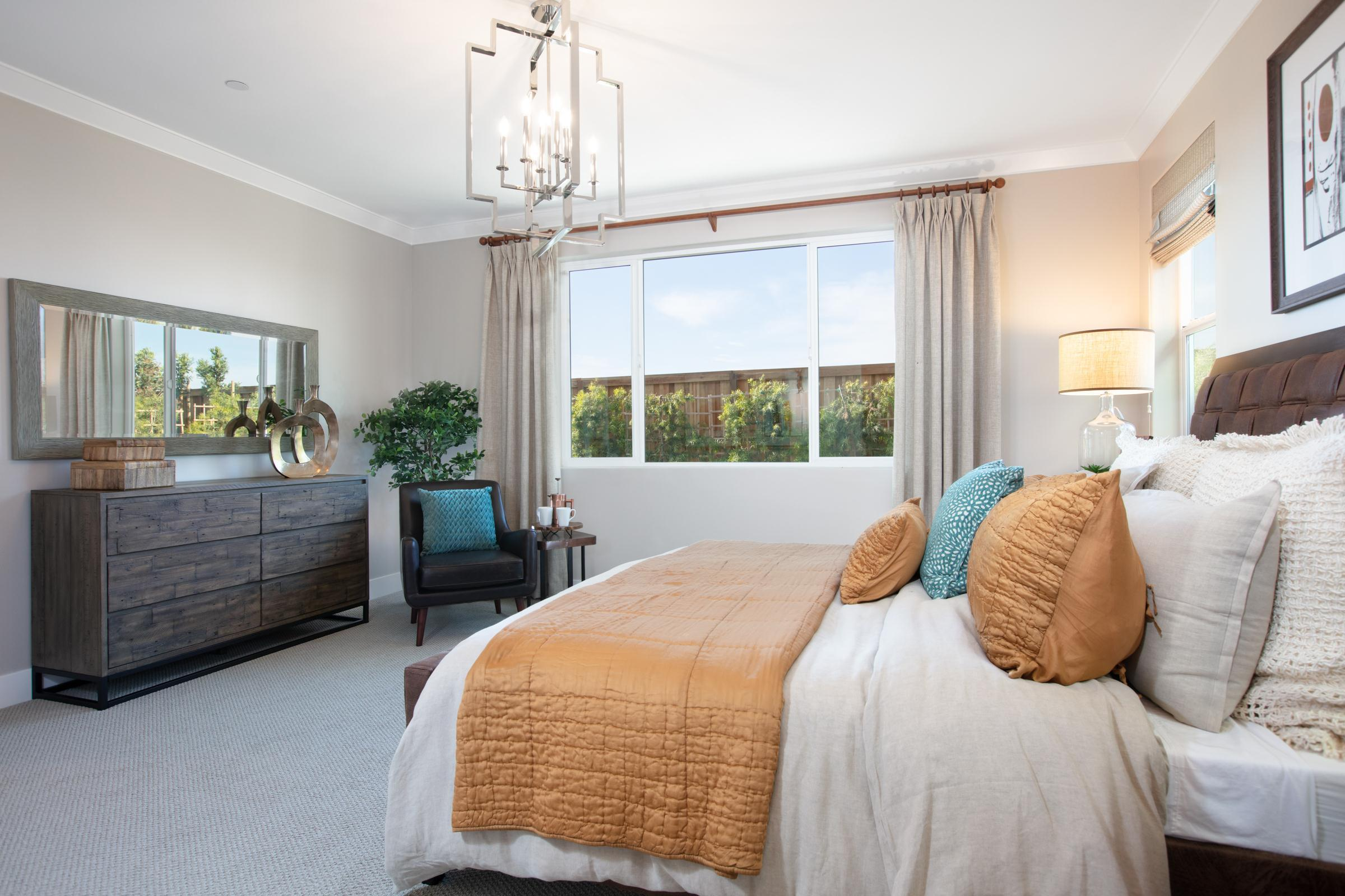 Bedroom featured in the Plan 2 By Anthem United Homes Inc in Stockton-Lodi, CA