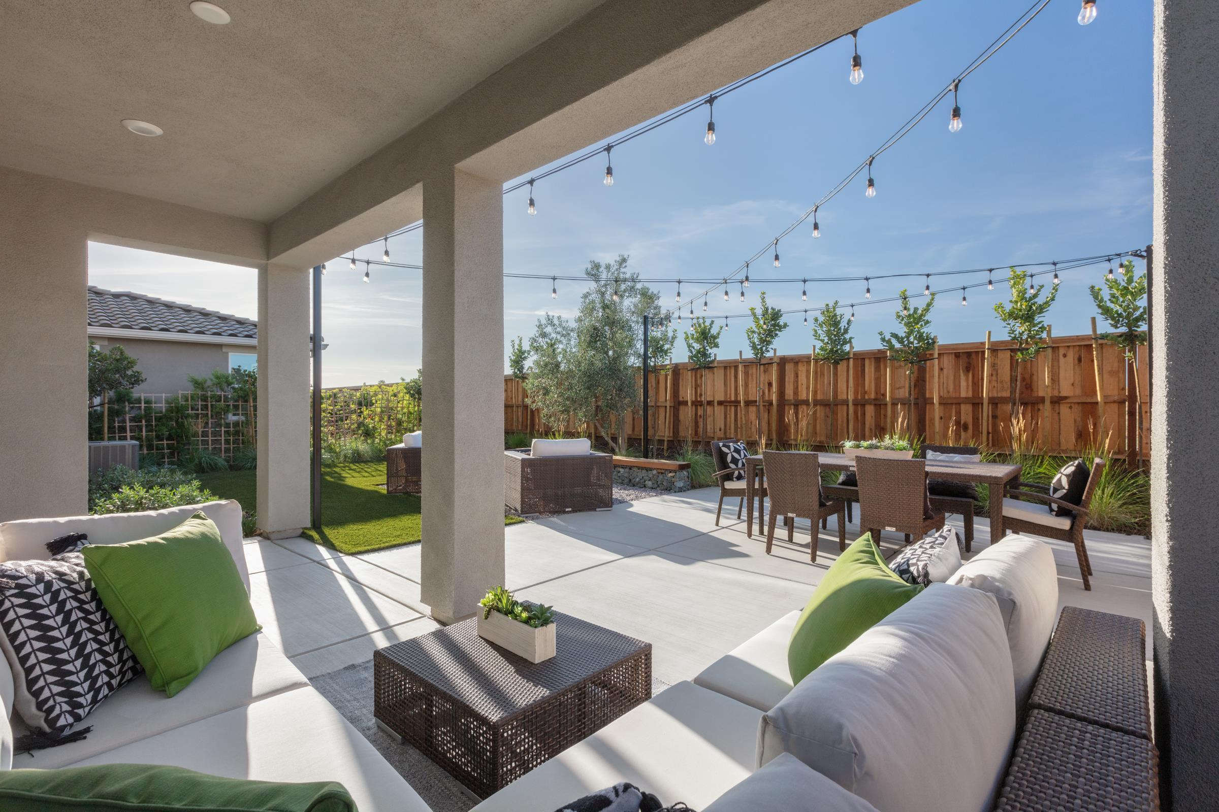 Exterior featured in the Plan 3 By Anthem United Homes Inc in Stockton-Lodi, CA