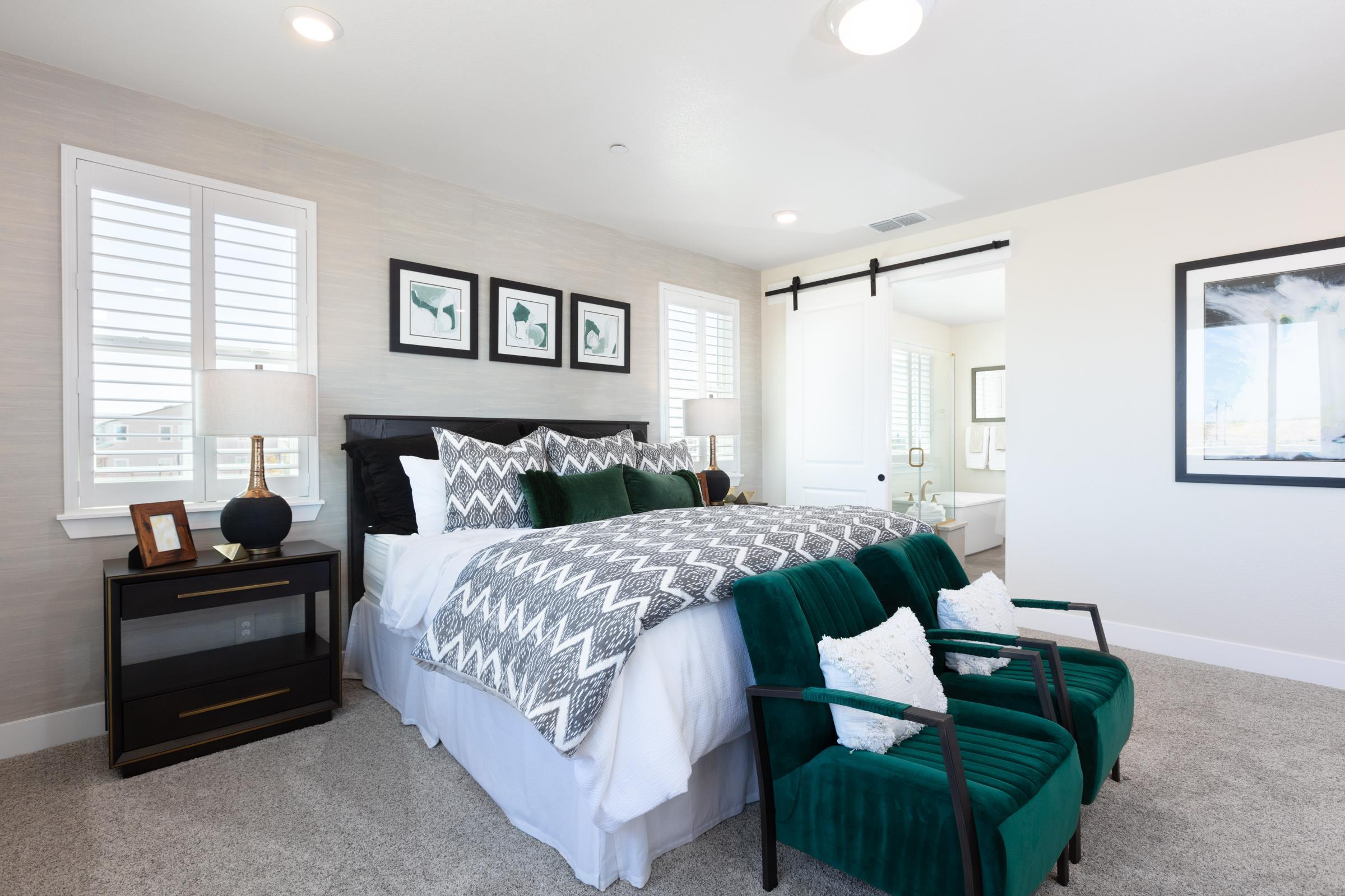 Bedroom featured in the Plan 3 By Anthem United Homes Inc in Stockton-Lodi, CA