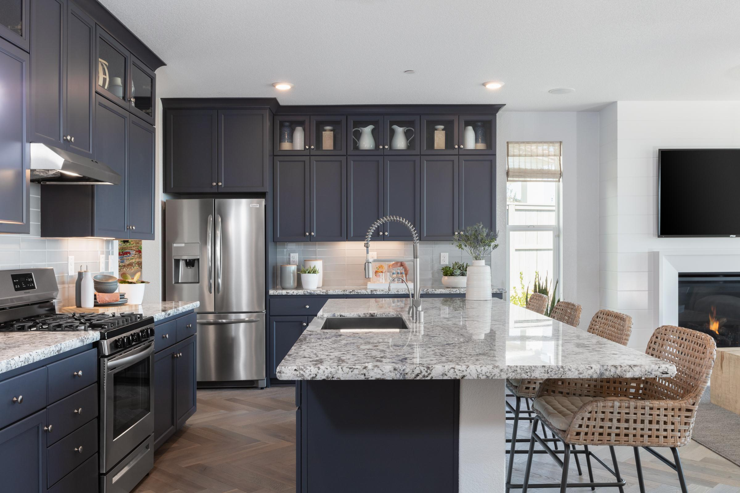 Kitchen featured in the Plan 1 Iron Ridge By Anthem United Homes Inc in Sacramento, CA