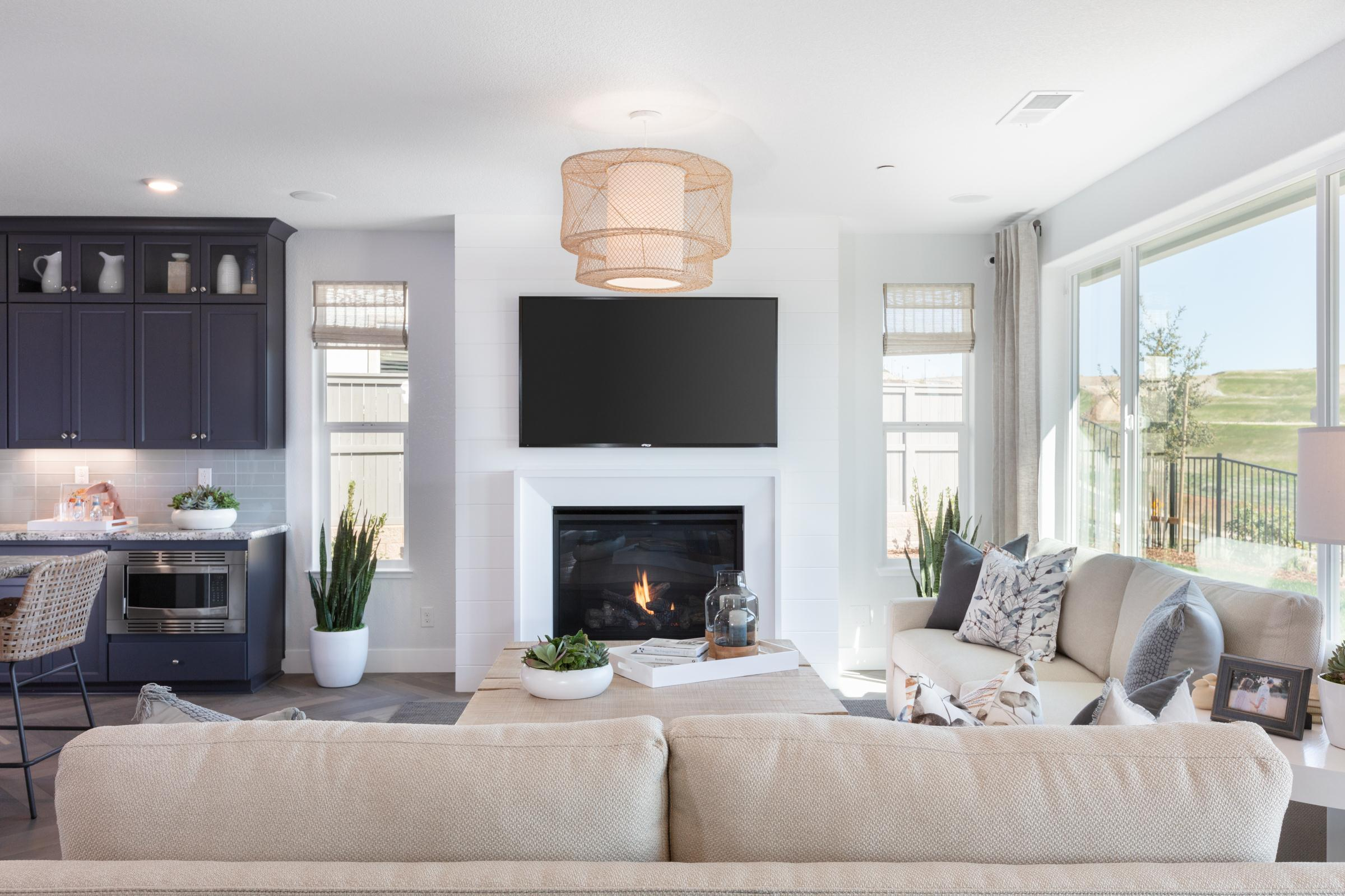 Living Area featured in the Plan 1 Iron Ridge By Anthem United Homes Inc in Sacramento, CA