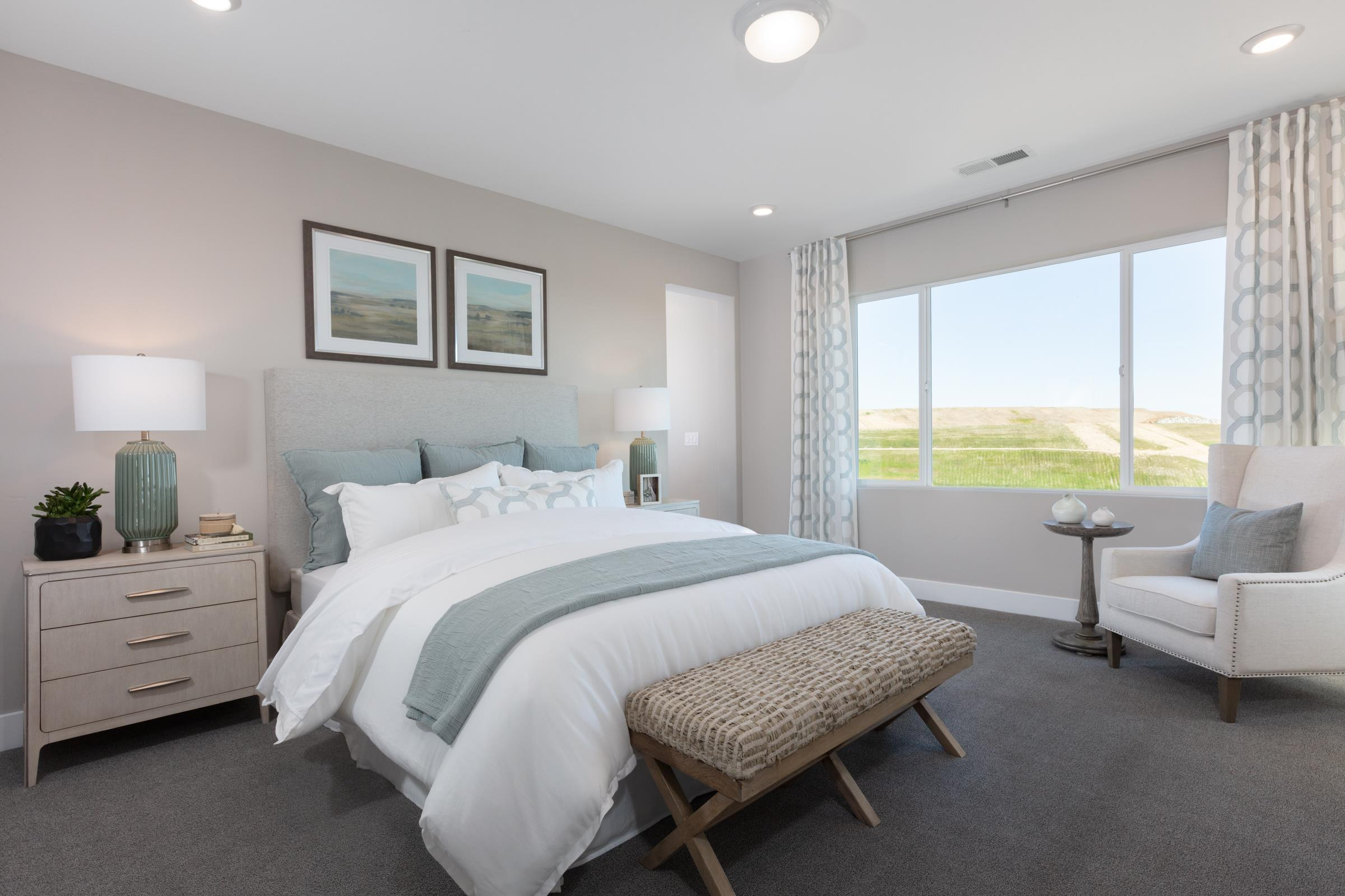 Bedroom featured in the Plan 4 Iron Ridge By Anthem United Homes Inc in Sacramento, CA