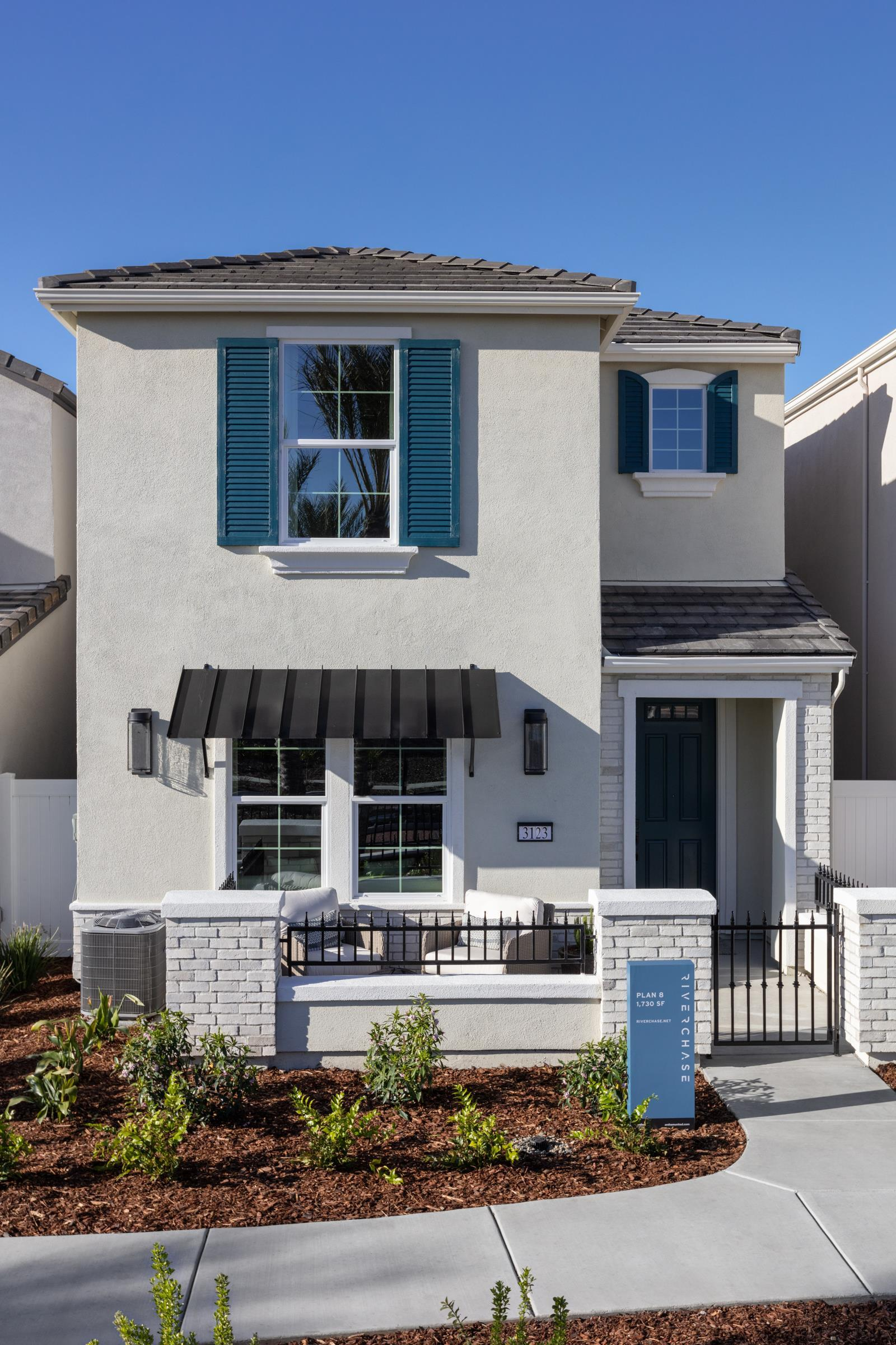 Exterior featured in the Plan 8 By Anthem United Homes Inc in Sacramento, CA