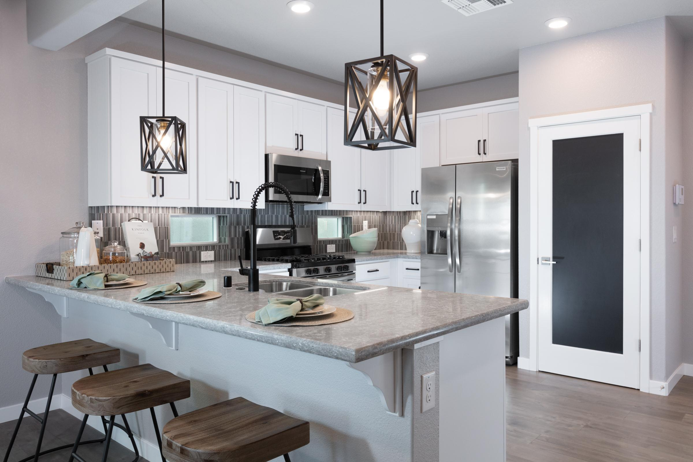 Kitchen featured in the Plan 8 By Anthem United Homes Inc in Sacramento, CA