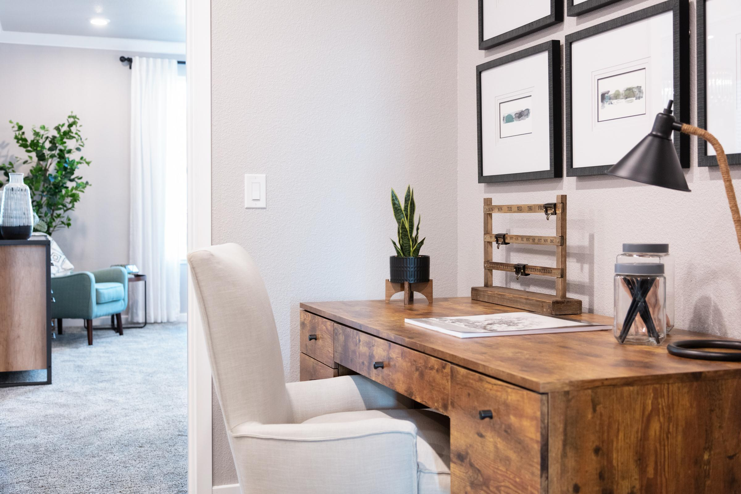Living Area featured in the Plan 8 By Anthem United Homes Inc in Sacramento, CA