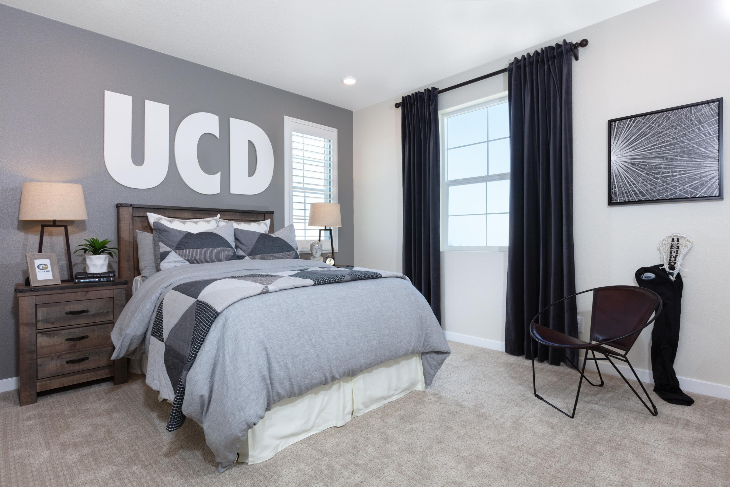 Bedroom featured in the Plan 9 By Anthem United Homes Inc in Sacramento, CA