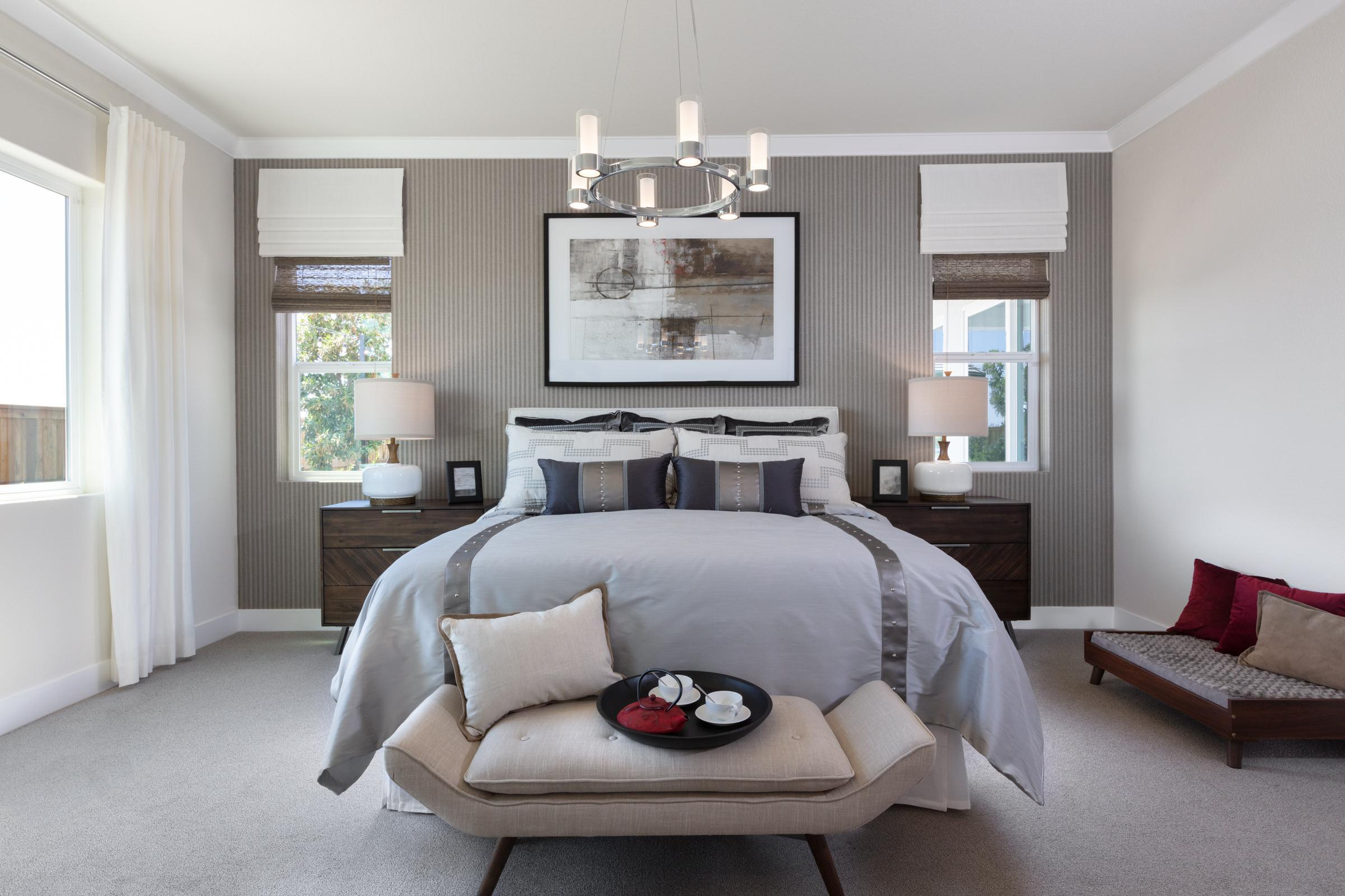 Bedroom featured in the Plan 1 Bungalow By Anthem United Homes Inc in Stockton-Lodi, CA