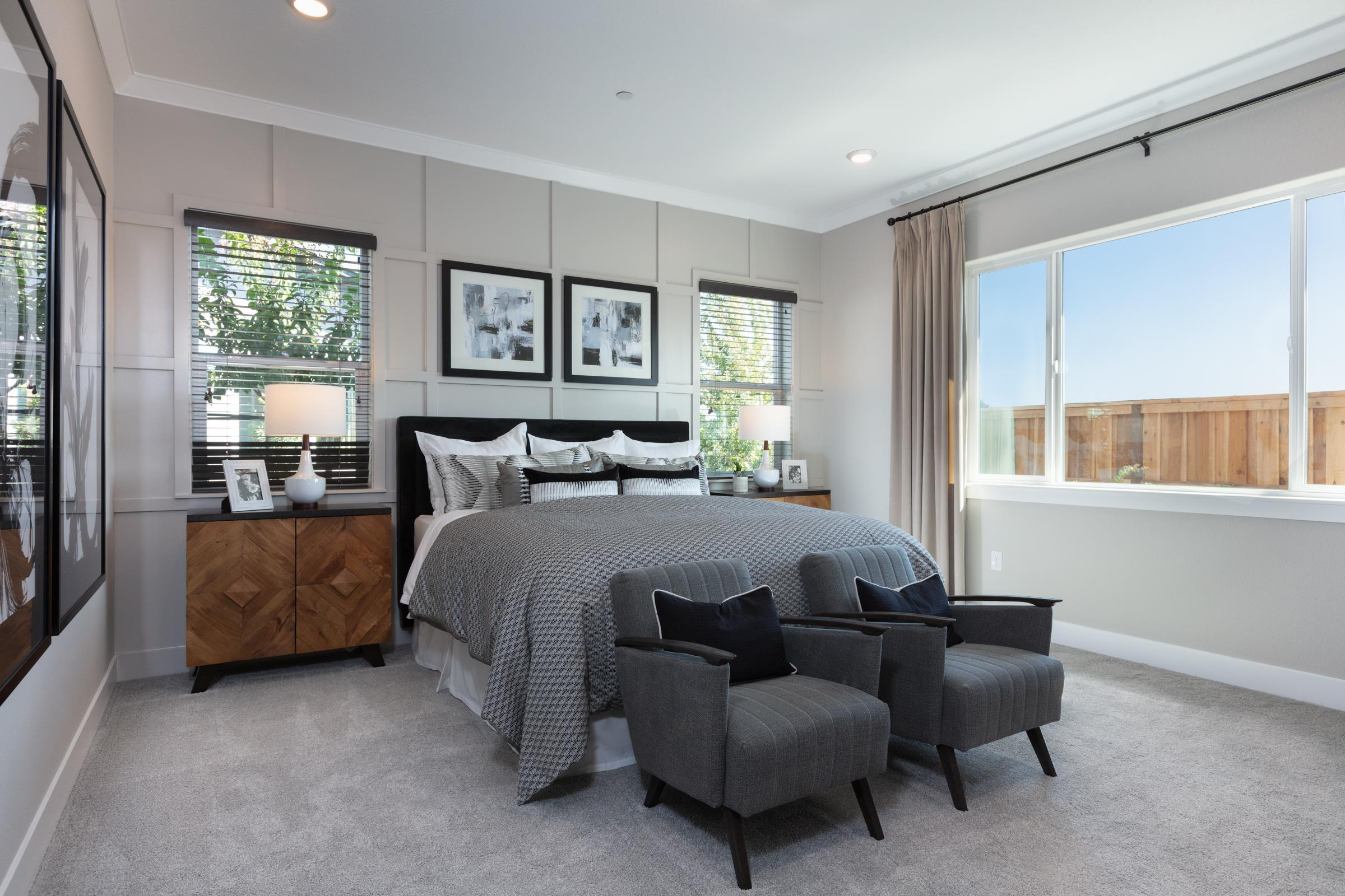 Bedroom featured in the Plan 3 Bungalow By Anthem United Homes Inc in Stockton-Lodi, CA