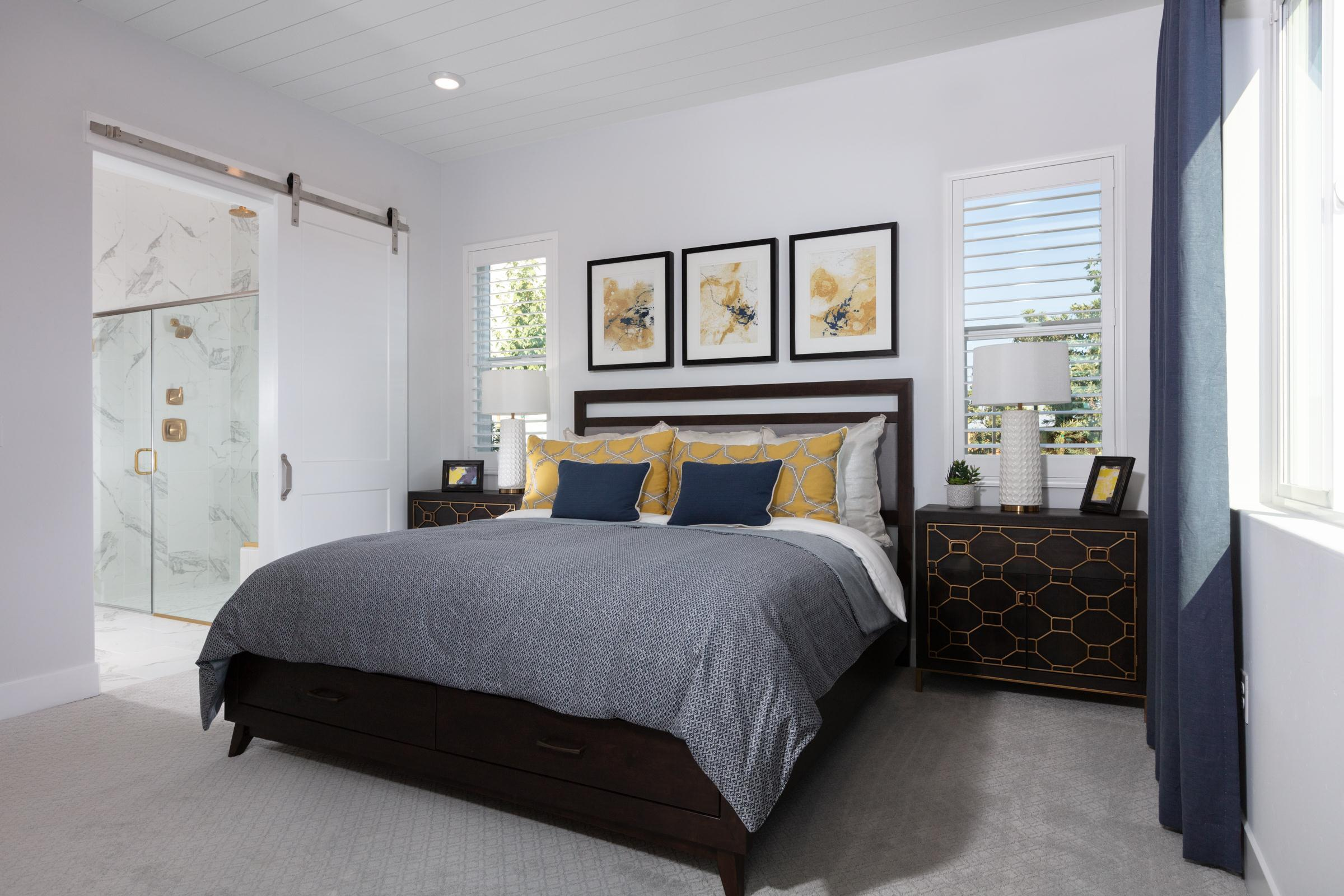 Bedroom featured in the Plan 2 Bungalow By Anthem United Homes Inc in Stockton-Lodi, CA