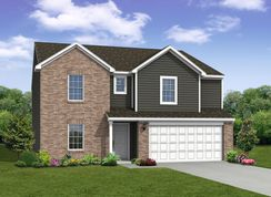 The Cooper - Bluffs at Youngs Creek: Franklin, Indiana - Arbor Homes, LLC