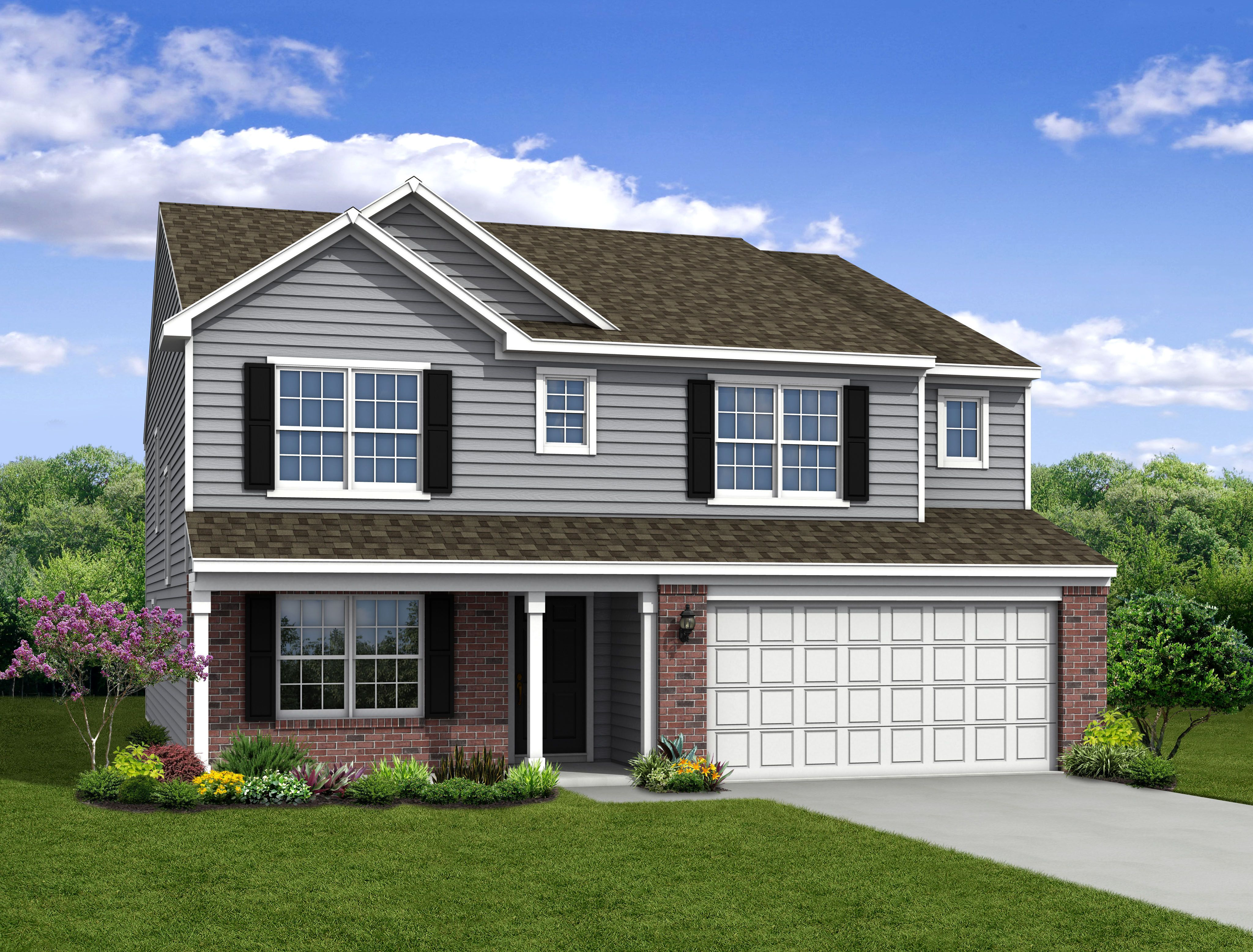 Exterior featured in The Cooper By Arbor Homes, LLC in Kokomo, IN